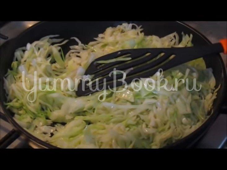Запечённая капуста «Нежная» с яйцами и сыром - шаг 3