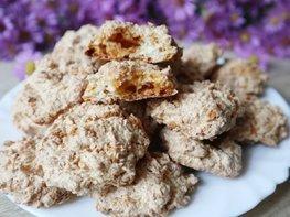 Карамельно-кокосовое печенье без муки