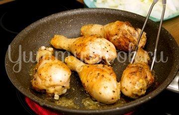 Хохоп с курицей  - шаг 2