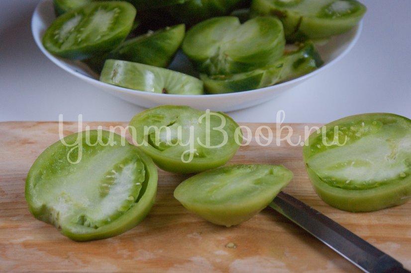 Жареные зелёные помидоры - шаг 1