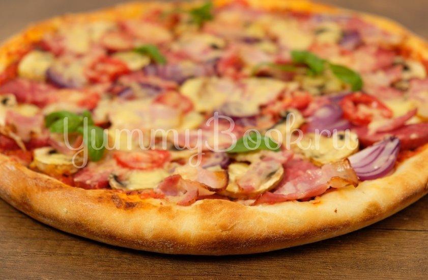 Тесто для пиццы мягкое и пышное - шаг 7