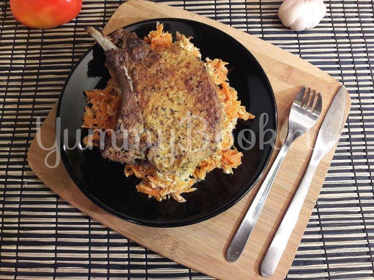 Корейка в сметанном маринаде с горчицей и чесноком - шаг 6