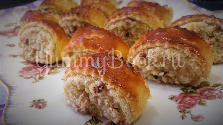 Када (гата) — домашнее печенье с начинкой  - шаг 4
