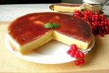 Пирог с калиной и творогом