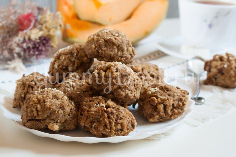Цельнозерновое печенье с тыквой - шаг 4