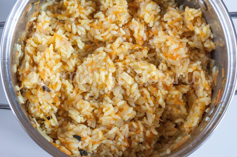 Жареный рис с карри - шаг 5