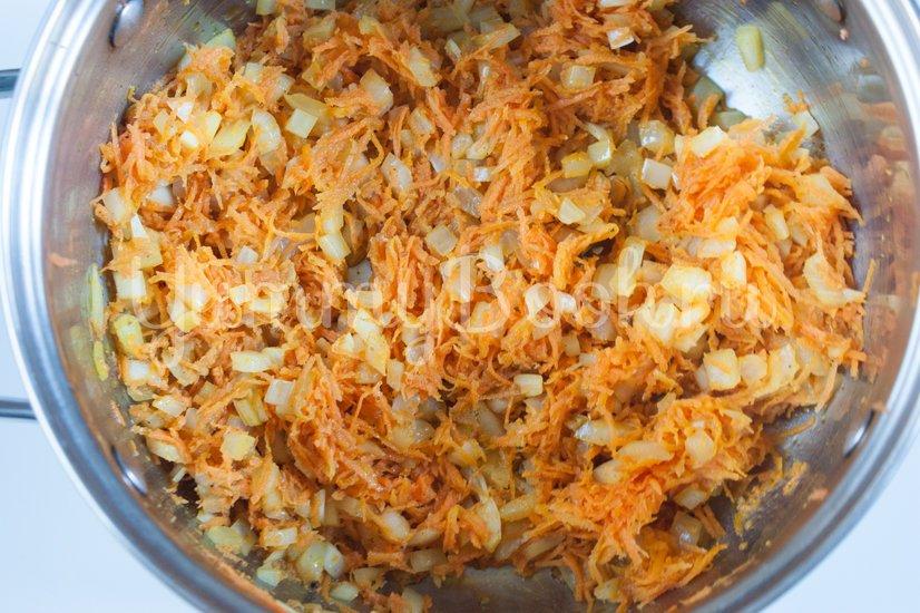 Жареный рис с карри - шаг 1