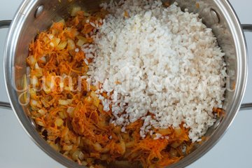 Жареный рис с карри - шаг 2