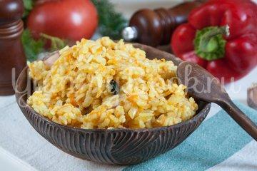 Жареный рис с карри - шаг 6