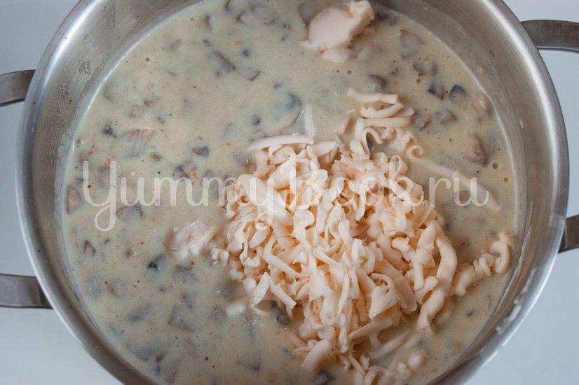 Польский грибной суп из шампиньонов - шаг 6