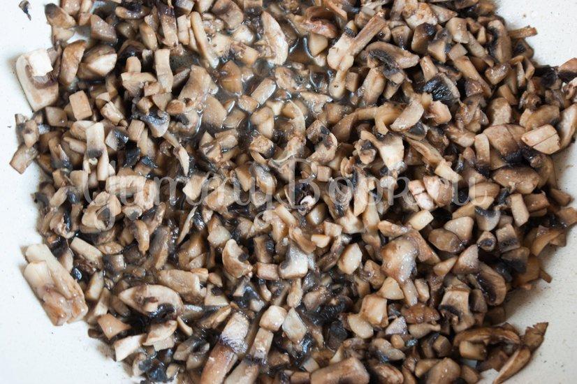 Польский грибной суп из шампиньонов - шаг 2