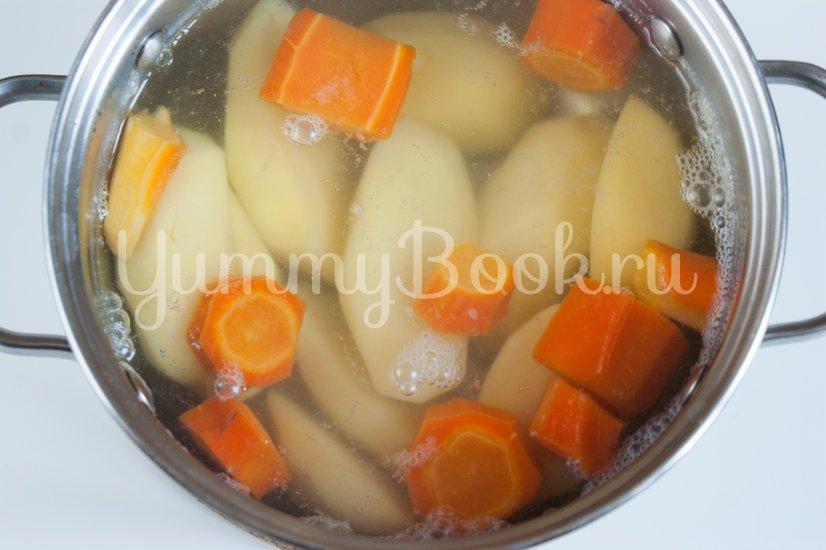 Польский грибной суп из шампиньонов - шаг 1