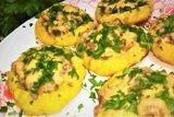 Блюдо из отварного картофеля