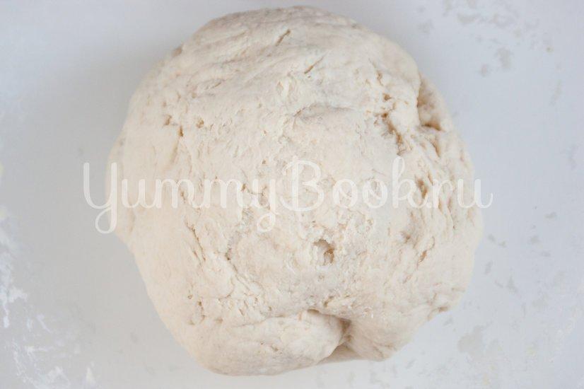 Хлеб с оливками, кукурузой и ветчиной - шаг 3