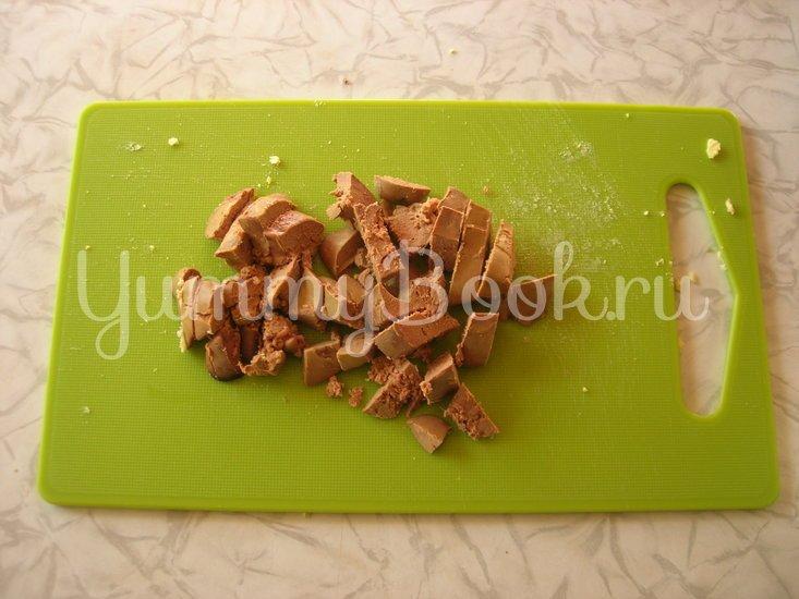 Румынский дроб из куриной печени - шаг 3