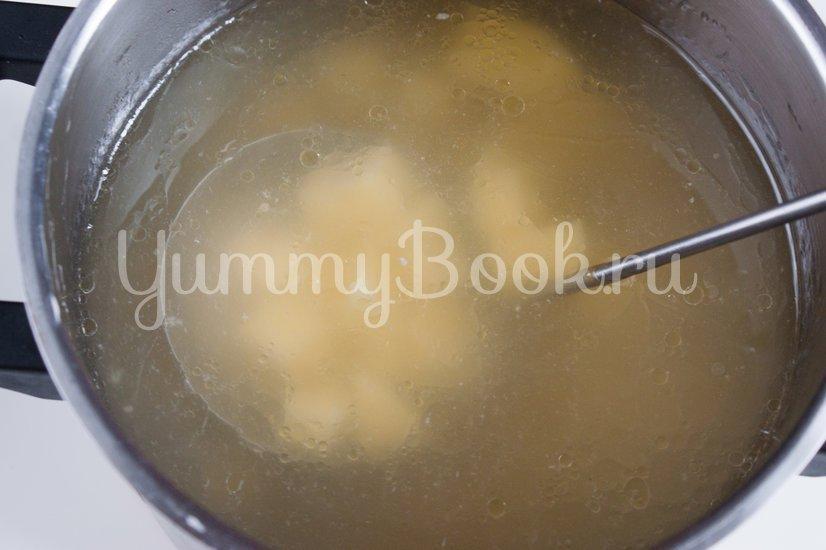 Сырный суп с вермишелью - шаг 2