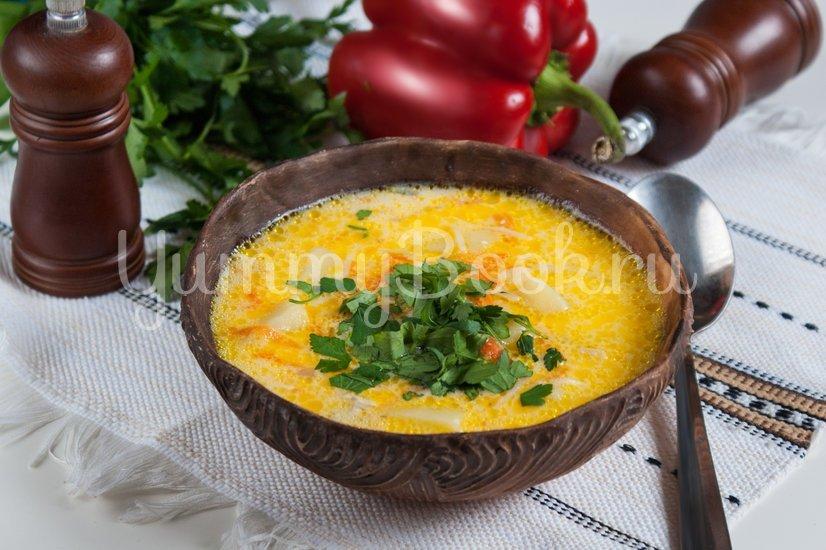 Сырный суп с вермишелью - шаг 7