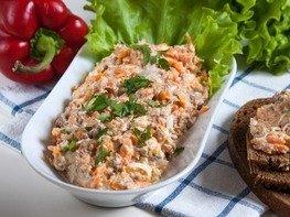Еврейская закуска с тунцом