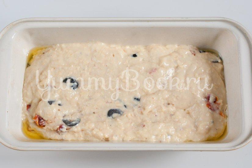 Кекс с вялеными томатами и маслинами - шаг 5