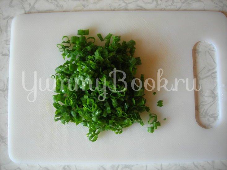 Новогодний салат-коктейль с печенью трески - шаг 4