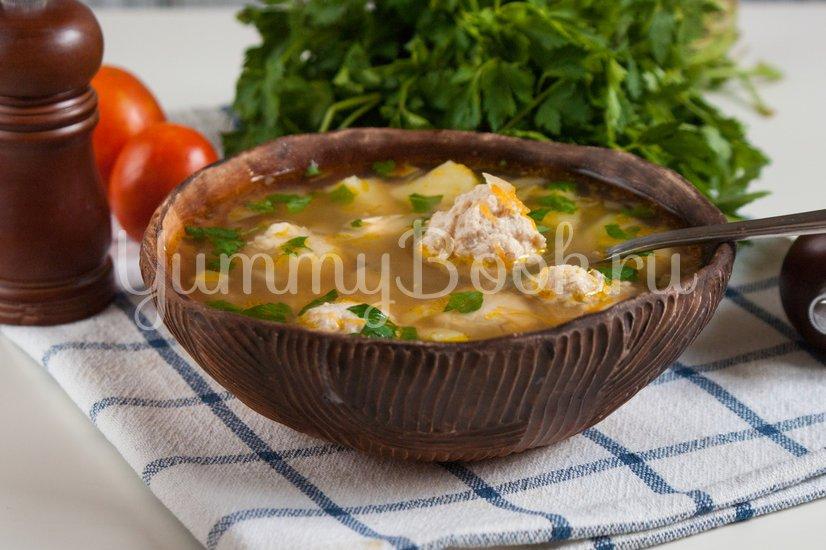 Гречневый суп с куриными фрикадельками - шаг 8