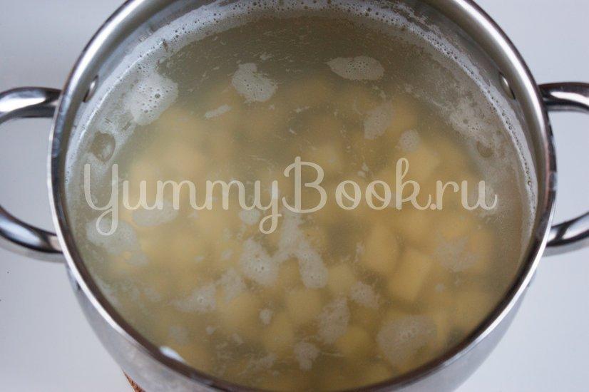 Гречневый суп с куриными фрикадельками - шаг 3