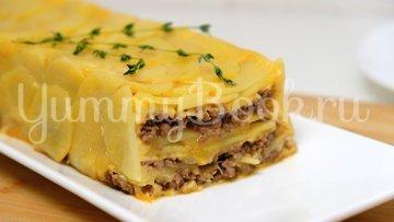 Картофельная запеканка с фаршем - шаг 9
