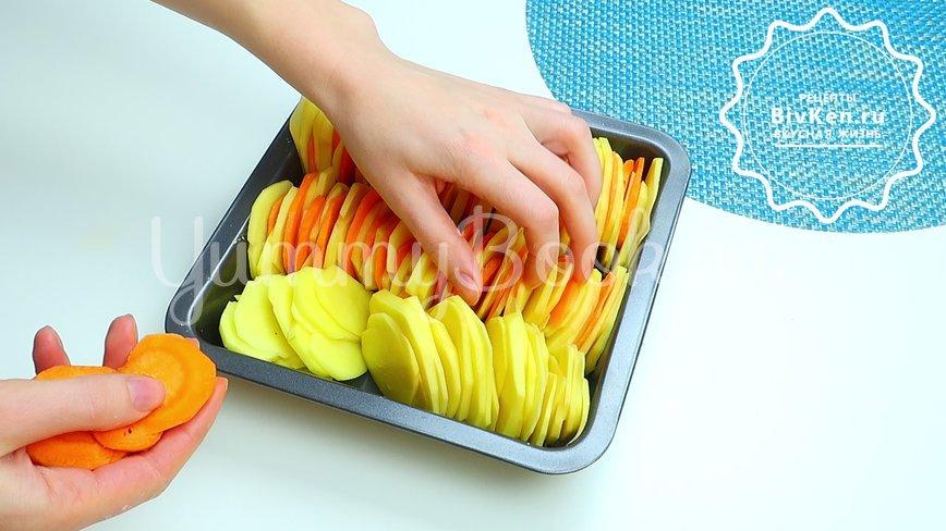 Ароматная картошка в духовке - шаг 3
