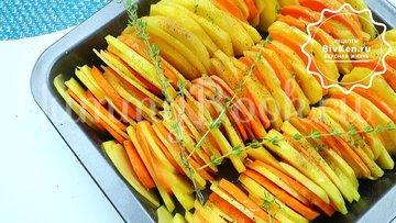 Ароматная картошка в духовке - шаг 4