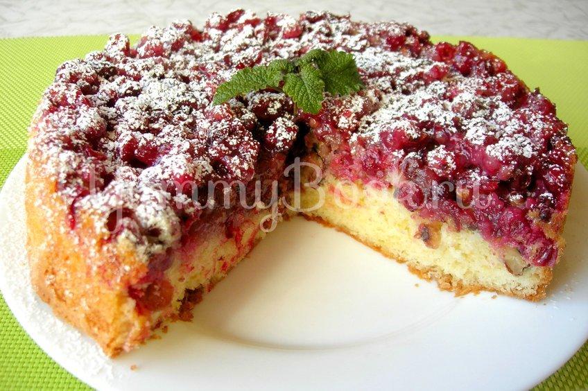 Бостонский клюквенный пирог