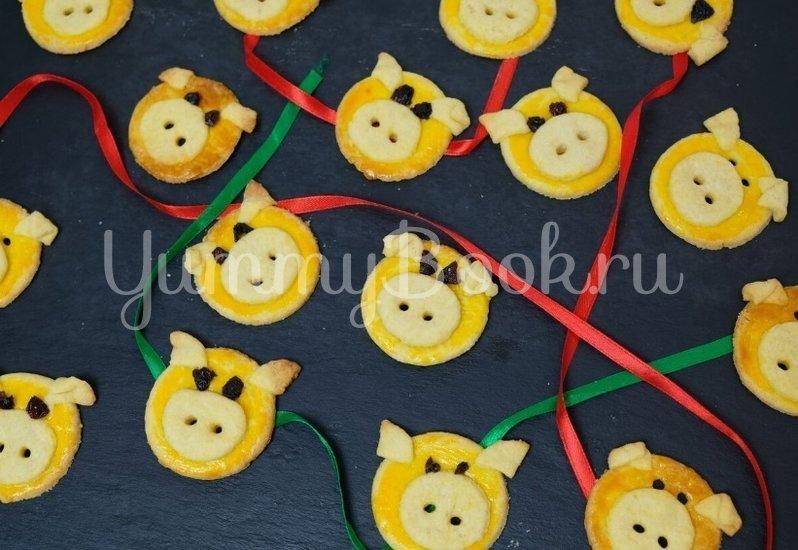Домашнее печенье «Милые Свинки»  - шаг 8
