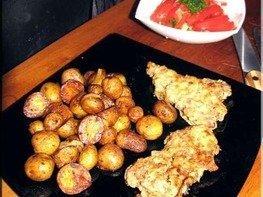 Гарнир из мелкого картофеля