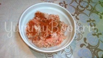 Рулеты из картофеля с мясом и сыром - шаг 2
