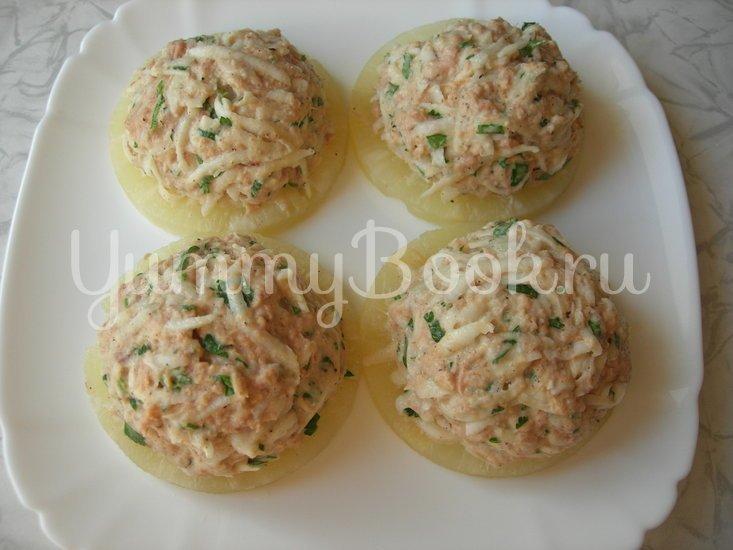 Праздничная закуска с тунцом на ананасовых кольцах - шаг 4
