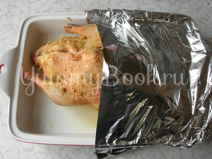 Сочная утка, запеченная с апельсинами - шаг 5