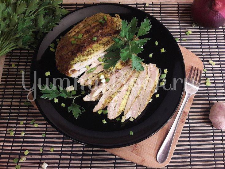 Куриная грудка в чесночно-лимонном маринаде - шаг 6