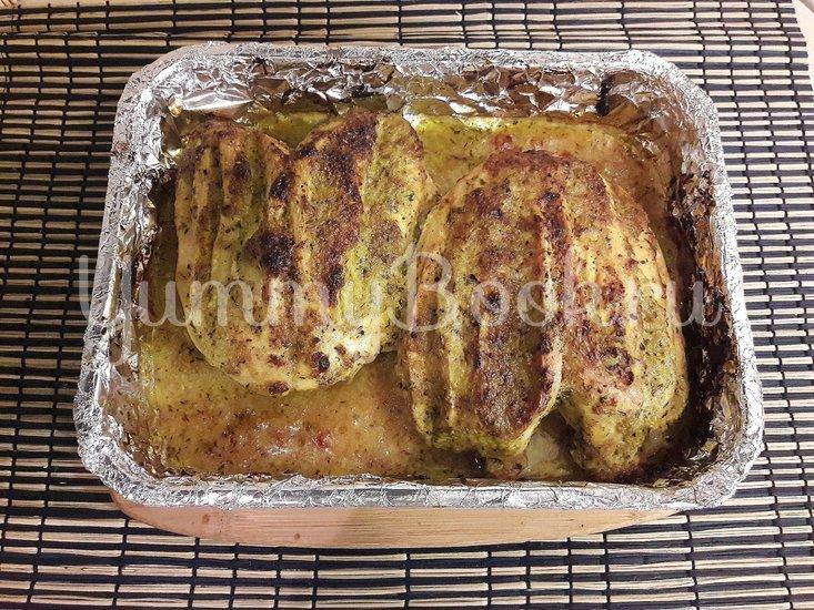 Куриная грудка в чесночно-лимонном маринаде - шаг 5