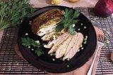 Куриная грудка в чесночно-лимонном маринаде