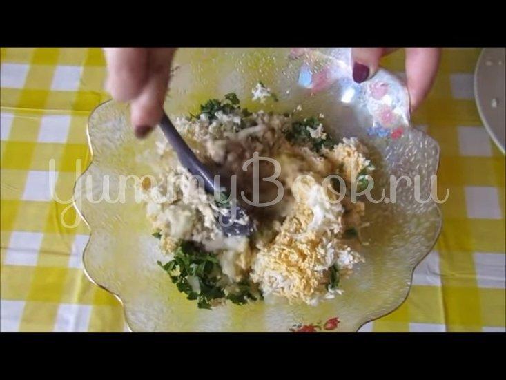 Закусочные шарики из печени трески  - шаг 3