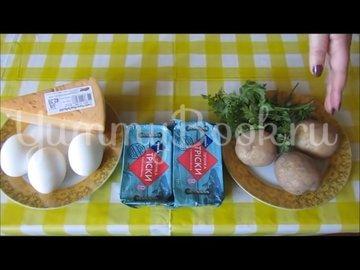 Закусочные шарики из печени трески  - шаг 1