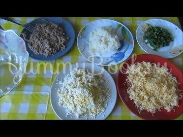 Закусочные шарики из печени трески  - шаг 2