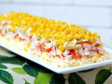 Крабовый салат «Новинка»