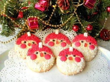 Новогодний десерт «Дед Мороз»