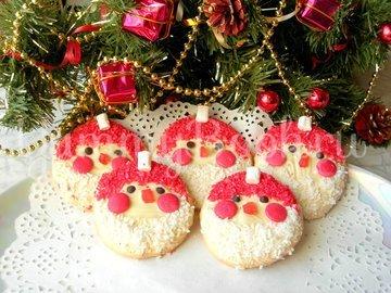 Новогодний десерт «Дед Мороз» - шаг 6