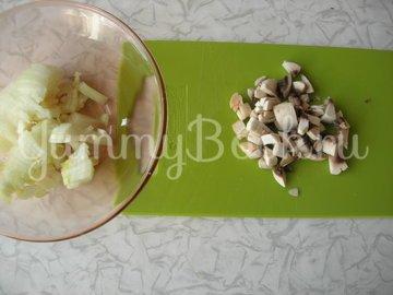 Мясной хлеб с грибами - шаг 1