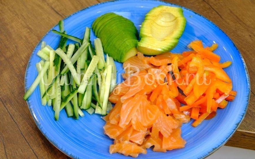 Праздничный салат без майонеза - шаг 4