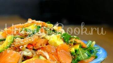 Праздничный салат без майонеза - шаг 8