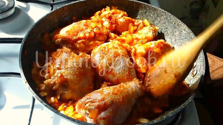 Курица по-адыгейски и адыгейская соль - шаг 5