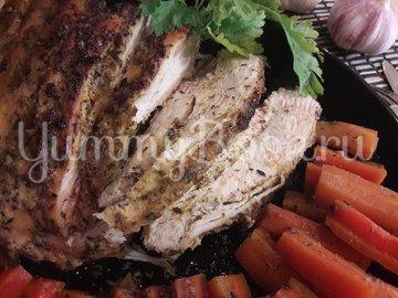 Запечённые куриные грудки с морковью - шаг 10