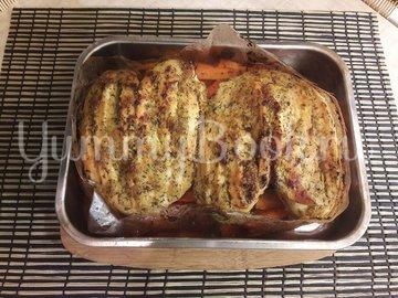 Запечённые куриные грудки с морковью - шаг 7